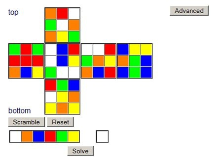 Solucion del cubo rubik